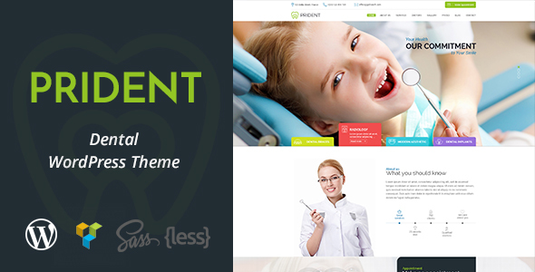 Prident Preview Wordpress Theme - Rating, Reviews, Preview, Demo & Download