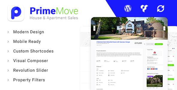 Primemove Preview Wordpress Theme - Rating, Reviews, Preview, Demo & Download