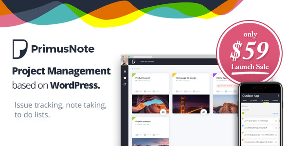 PrimusNote Preview Wordpress Theme - Rating, Reviews, Preview, Demo & Download