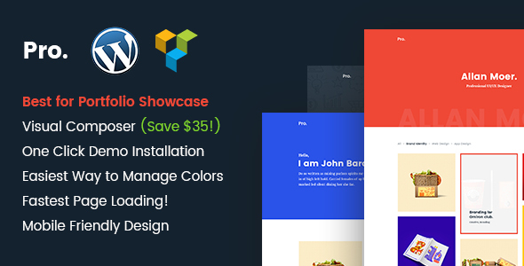 Pro Preview Wordpress Theme - Rating, Reviews, Preview, Demo & Download