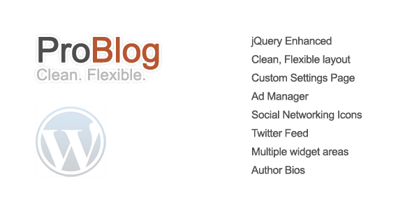 ProBlog Preview Wordpress Theme - Rating, Reviews, Preview, Demo & Download