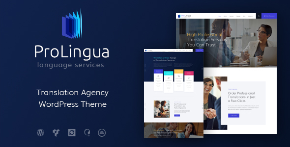 ProLingua Preview Wordpress Theme - Rating, Reviews, Preview, Demo & Download