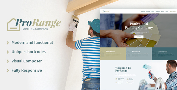 ProRange Preview Wordpress Theme - Rating, Reviews, Preview, Demo & Download