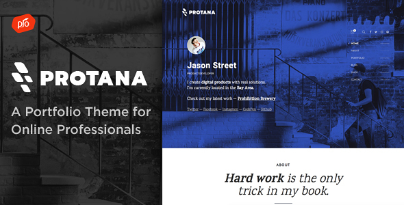 Protana Preview Wordpress Theme - Rating, Reviews, Preview, Demo & Download