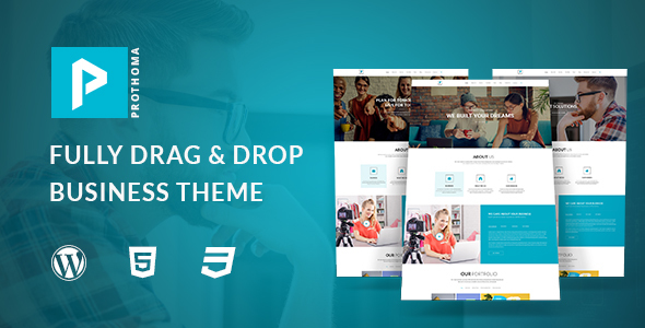 Prothoma Preview Wordpress Theme - Rating, Reviews, Preview, Demo & Download
