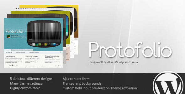 Protofolio Business Preview Wordpress Theme - Rating, Reviews, Preview, Demo & Download