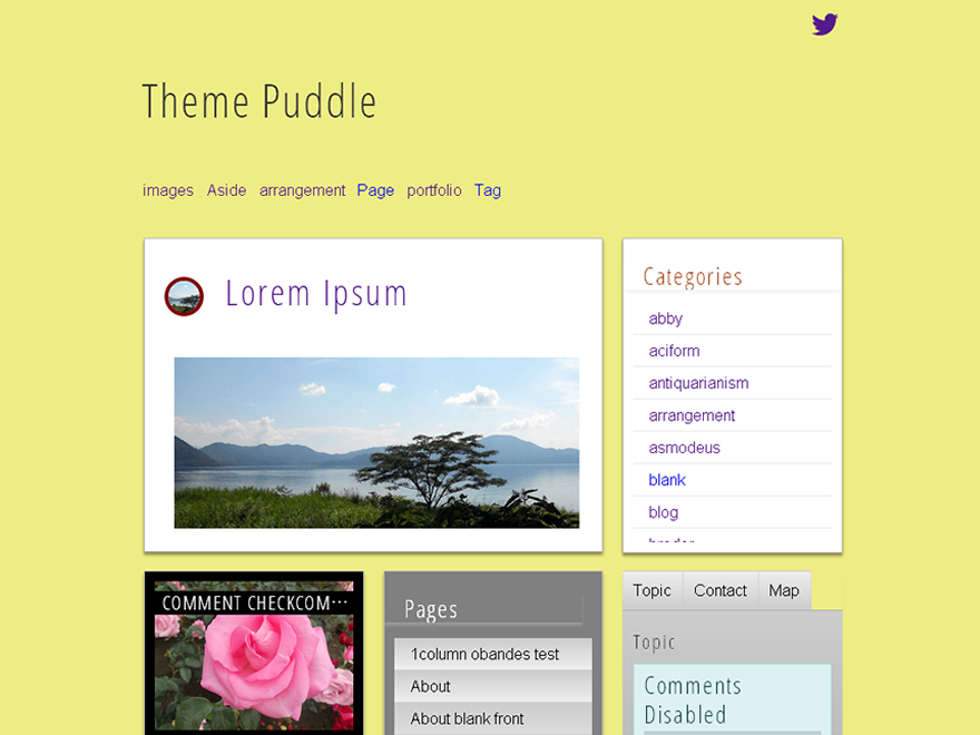 Puddle Preview Wordpress Theme - Rating, Reviews, Preview, Demo & Download