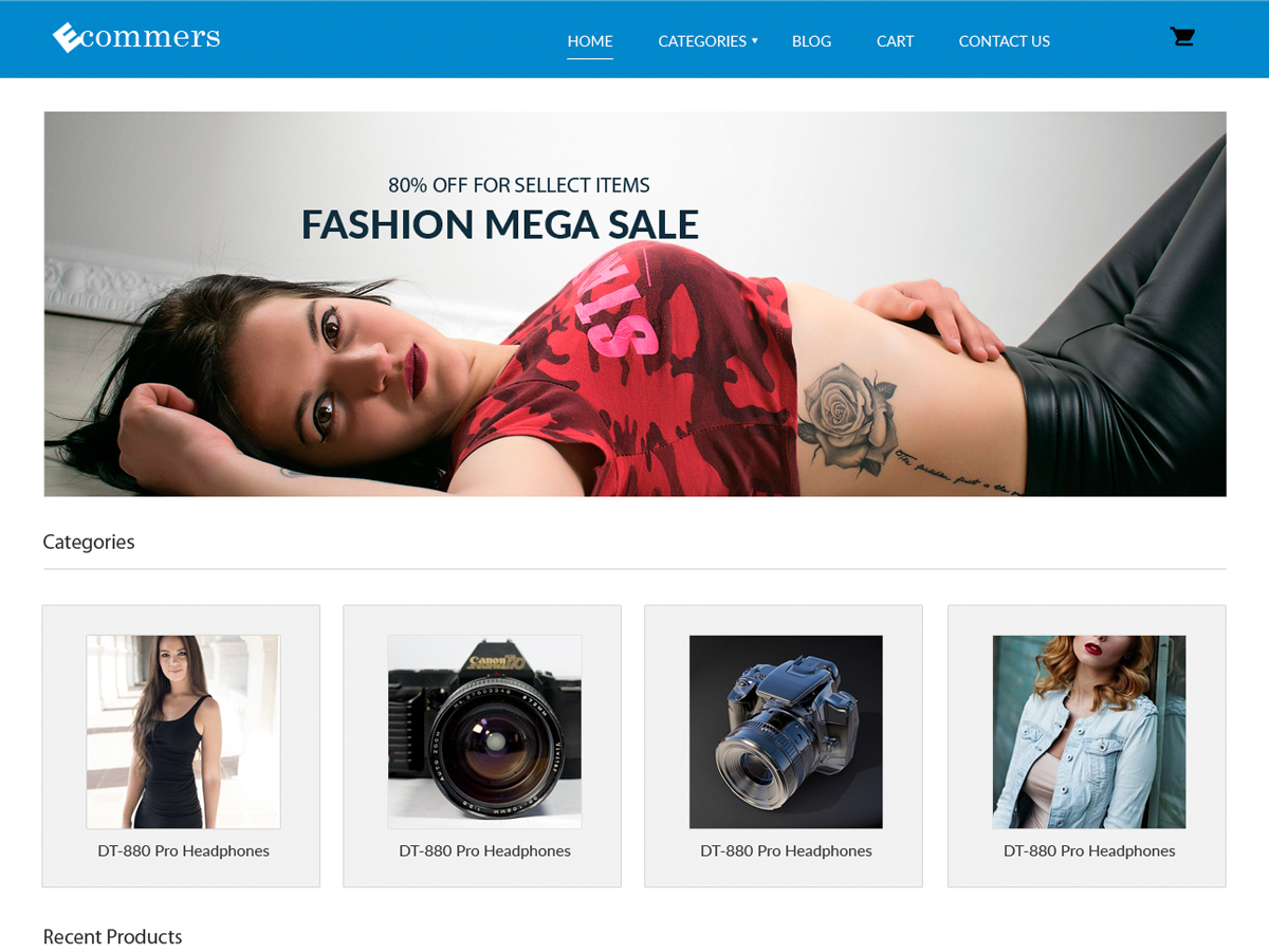 Pxt Ecommerce Preview Wordpress Theme - Rating, Reviews, Preview, Demo & Download