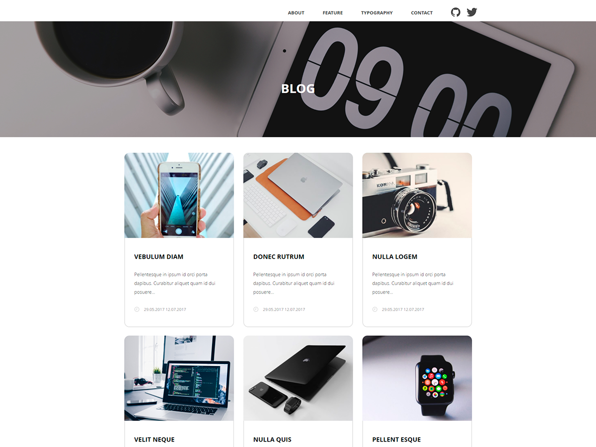 Qoob Preview Wordpress Theme - Rating, Reviews, Preview, Demo & Download