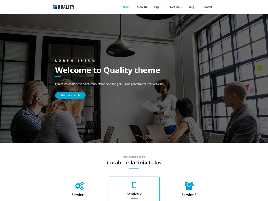 Quality Preview Wordpress Theme - Rating, Reviews, Preview, Demo & Download