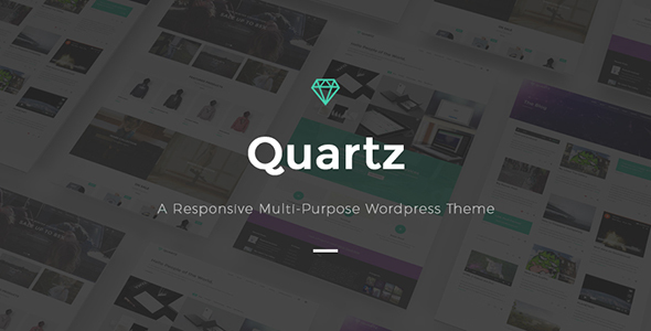 Quartz Preview Wordpress Theme - Rating, Reviews, Preview, Demo & Download