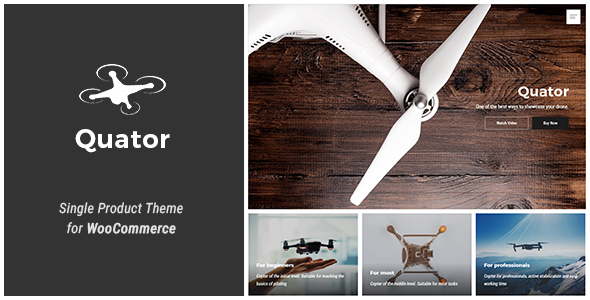 Quator Preview Wordpress Theme - Rating, Reviews, Preview, Demo & Download