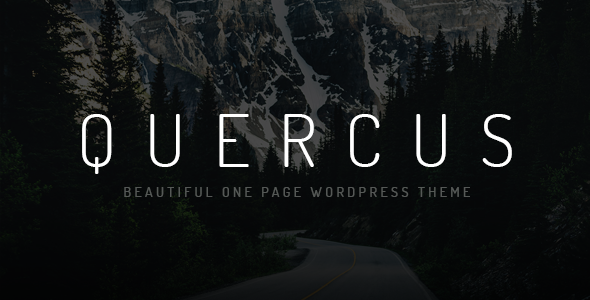 Quercus Preview Wordpress Theme - Rating, Reviews, Preview, Demo & Download