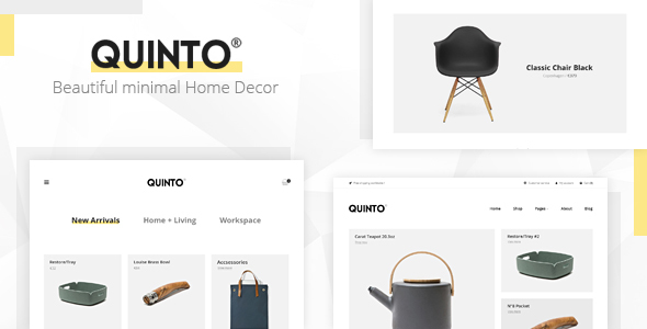 Quinto Preview Wordpress Theme - Rating, Reviews, Preview, Demo & Download