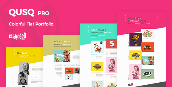 Qusq Pro Preview Wordpress Theme - Rating, Reviews, Preview, Demo & Download