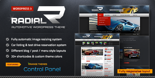 Radial Preview Wordpress Theme - Rating, Reviews, Preview, Demo & Download