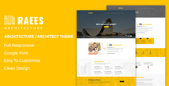 Raees Preview Wordpress Theme - Rating, Reviews, Preview, Demo & Download