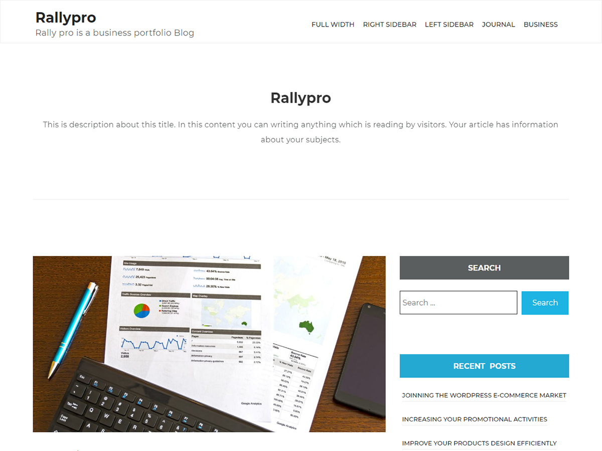 Rallypro Preview Wordpress Theme - Rating, Reviews, Preview, Demo & Download