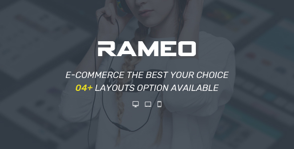 Rameo Preview Wordpress Theme - Rating, Reviews, Preview, Demo & Download