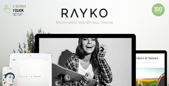 Rayko Preview Wordpress Theme - Rating, Reviews, Preview, Demo & Download