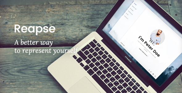 Reapse Preview Wordpress Theme - Rating, Reviews, Preview, Demo & Download