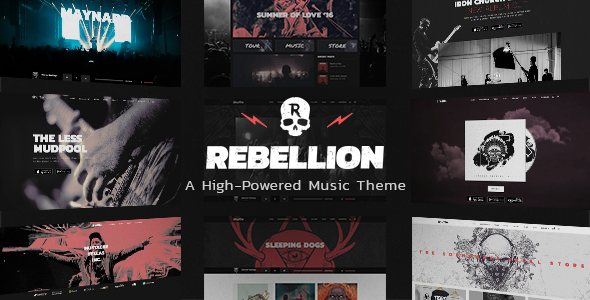 Rebellion Preview Wordpress Theme - Rating, Reviews, Preview, Demo & Download