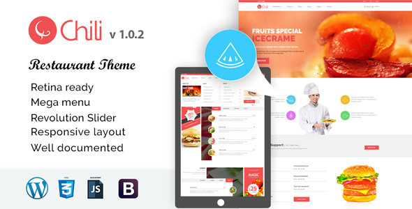 RedChili Preview Wordpress Theme - Rating, Reviews, Preview, Demo & Download