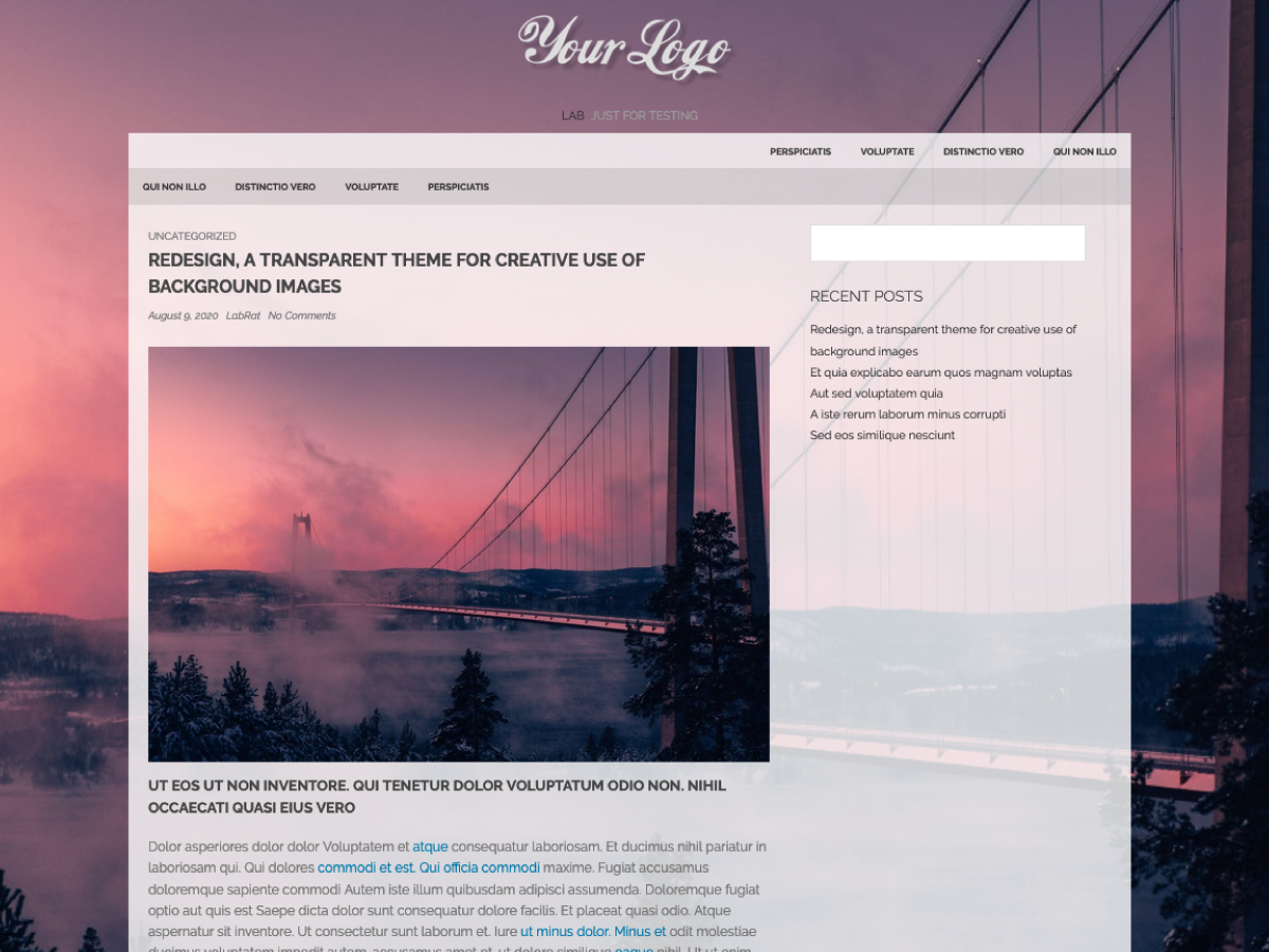 Redesign Preview Wordpress Theme - Rating, Reviews, Preview, Demo & Download
