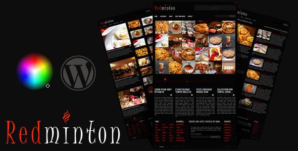 Redminton Preview Wordpress Theme - Rating, Reviews, Preview, Demo & Download