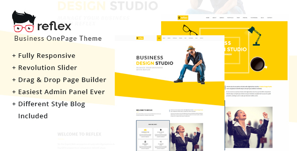 Reflex One Preview Wordpress Theme - Rating, Reviews, Preview, Demo & Download
