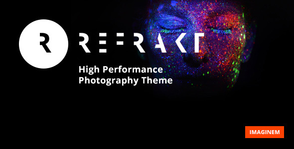 Refrakt Preview Wordpress Theme - Rating, Reviews, Preview, Demo & Download