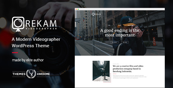 Rekam Preview Wordpress Theme - Rating, Reviews, Preview, Demo & Download