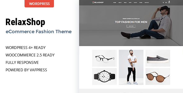 Relaxshop Preview Wordpress Theme - Rating, Reviews, Preview, Demo & Download