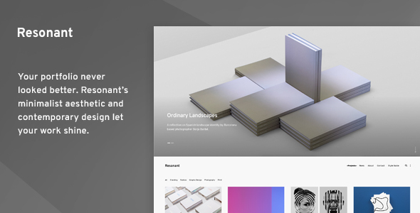 Resonant Preview Wordpress Theme - Rating, Reviews, Preview, Demo & Download