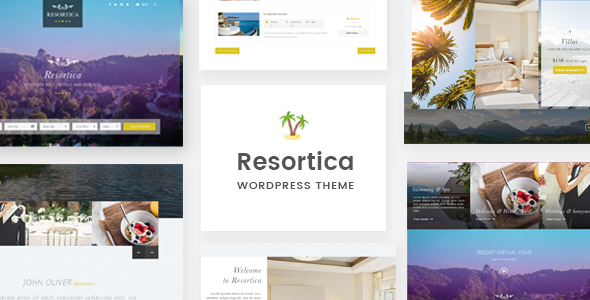 Resortica Preview Wordpress Theme - Rating, Reviews, Preview, Demo & Download