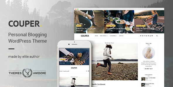 Responsive Personal Preview Wordpress Theme - Rating, Reviews, Preview, Demo & Download