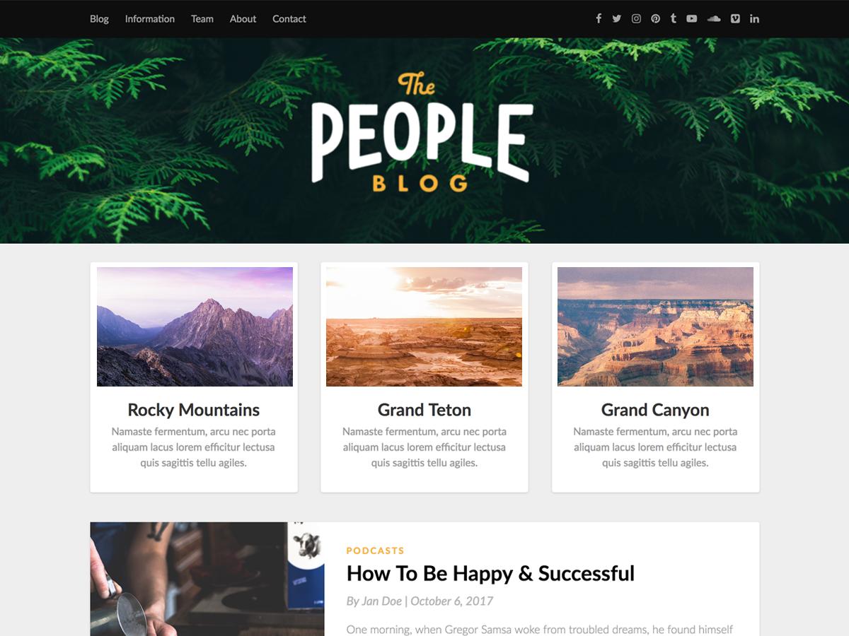Responsiveblogic Preview Wordpress Theme - Rating, Reviews, Preview, Demo & Download