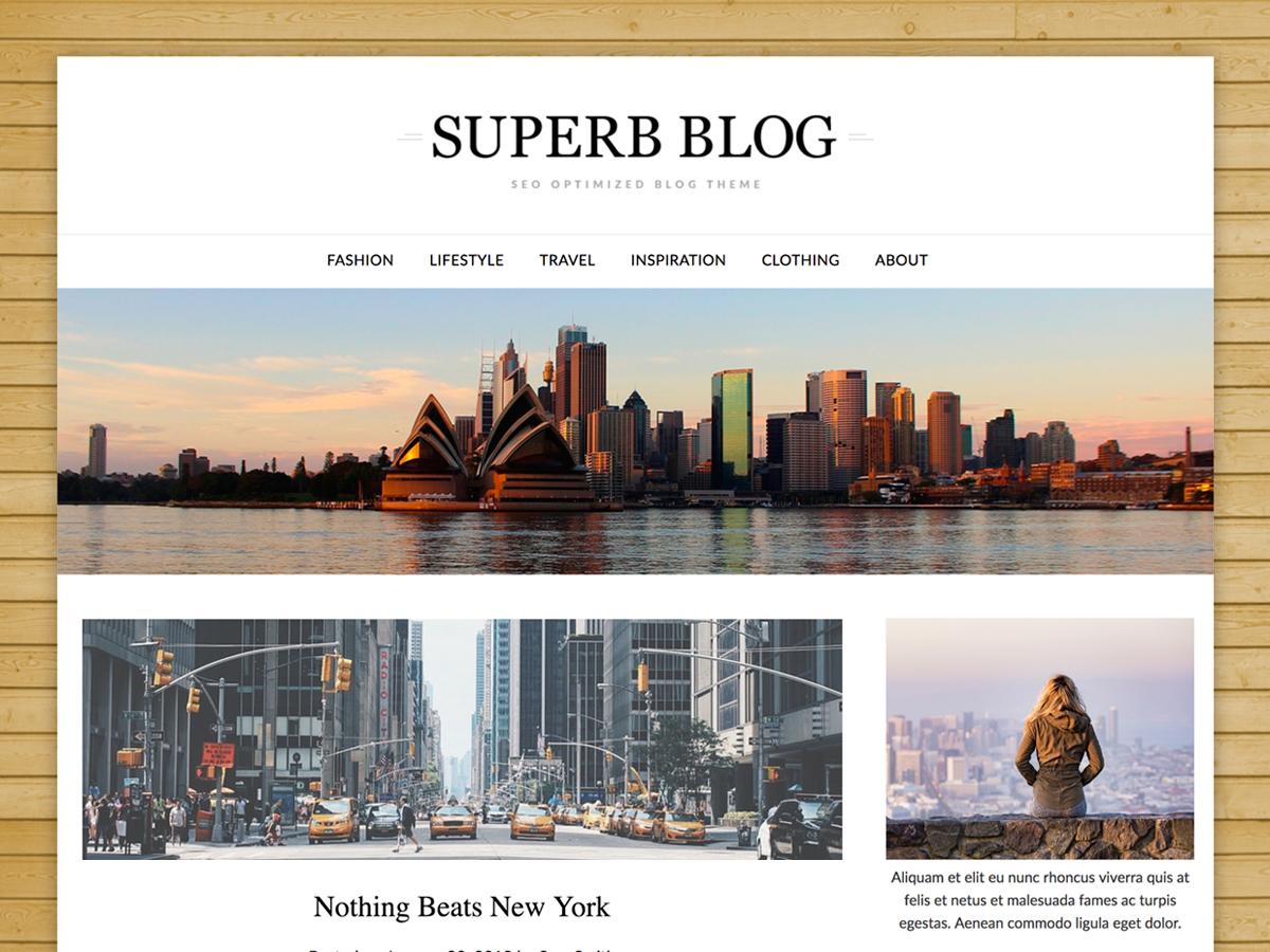 ResponsiveBlogily Preview Wordpress Theme - Rating, Reviews, Preview, Demo & Download