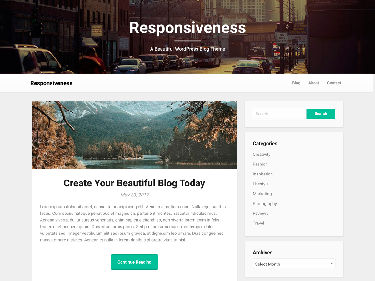Responsiveness Preview Wordpress Theme - Rating, Reviews, Preview, Demo & Download