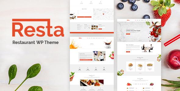 Resta Preview Wordpress Theme - Rating, Reviews, Preview, Demo & Download