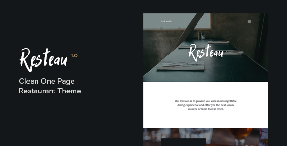 Resteau Preview Wordpress Theme - Rating, Reviews, Preview, Demo & Download