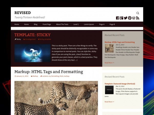 Revised Preview Wordpress Theme - Rating, Reviews, Preview, Demo & Download