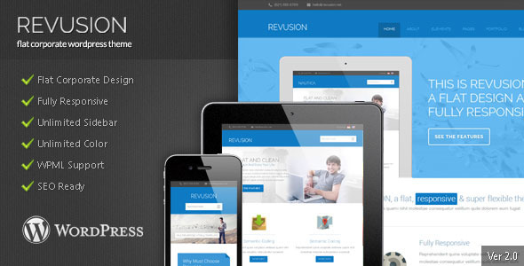 Revusion Preview Wordpress Theme - Rating, Reviews, Preview, Demo & Download