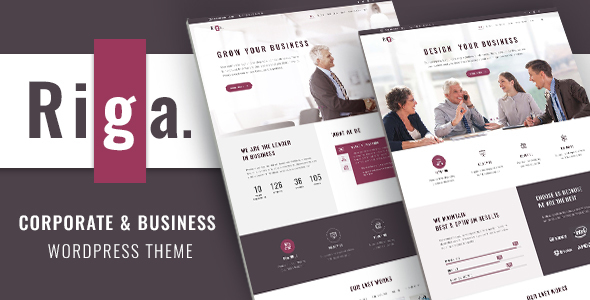 Riga Preview Wordpress Theme - Rating, Reviews, Preview, Demo & Download