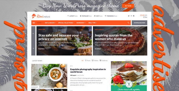 Rimi Preview Wordpress Theme - Rating, Reviews, Preview, Demo & Download