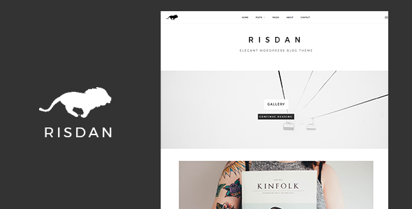 Risdan Preview Wordpress Theme - Rating, Reviews, Preview, Demo & Download