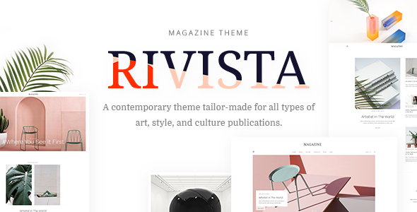 Rivista Preview Wordpress Theme - Rating, Reviews, Preview, Demo & Download