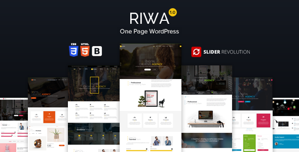 Riwa Preview Wordpress Theme - Rating, Reviews, Preview, Demo & Download