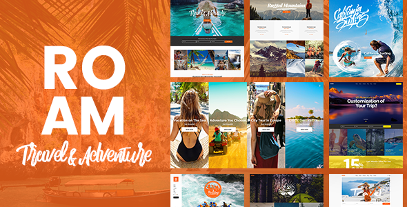 Roam Preview Wordpress Theme - Rating, Reviews, Preview, Demo & Download