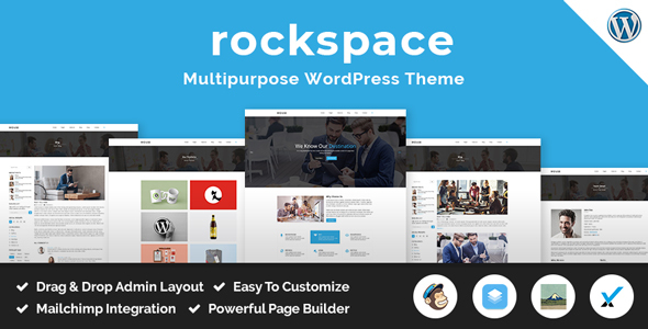 Rockspace Preview Wordpress Theme - Rating, Reviews, Preview, Demo & Download